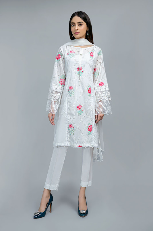 Maria B lawn suit Lawn summer collection