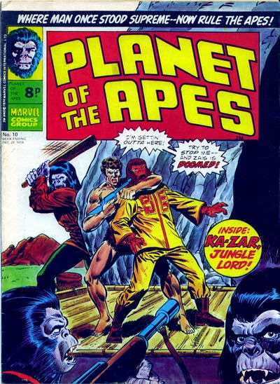 Marvel UK, Planet of the Apes #10