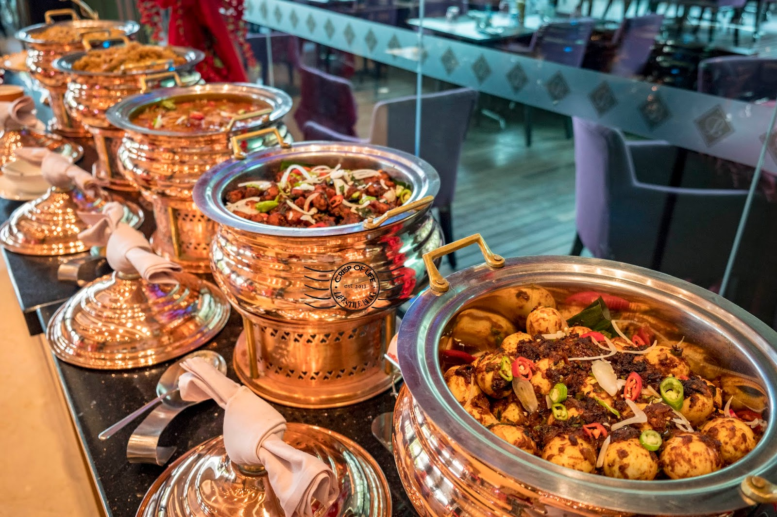 Chinese New Year Festive Buffet with Assortment of Good Food @ The Light Hotel Penang