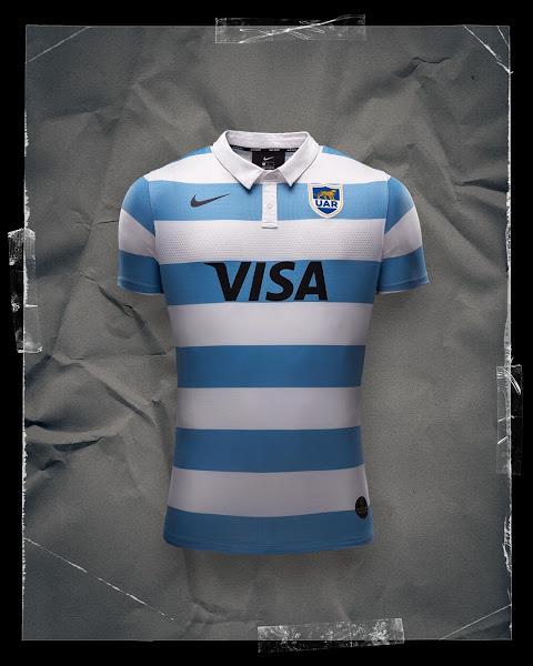 Nueva camiseta de Los Pumas #TriNations