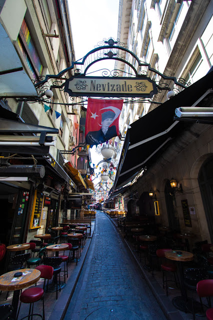 Nevizade-Istiklal Caddesi-Istanbul