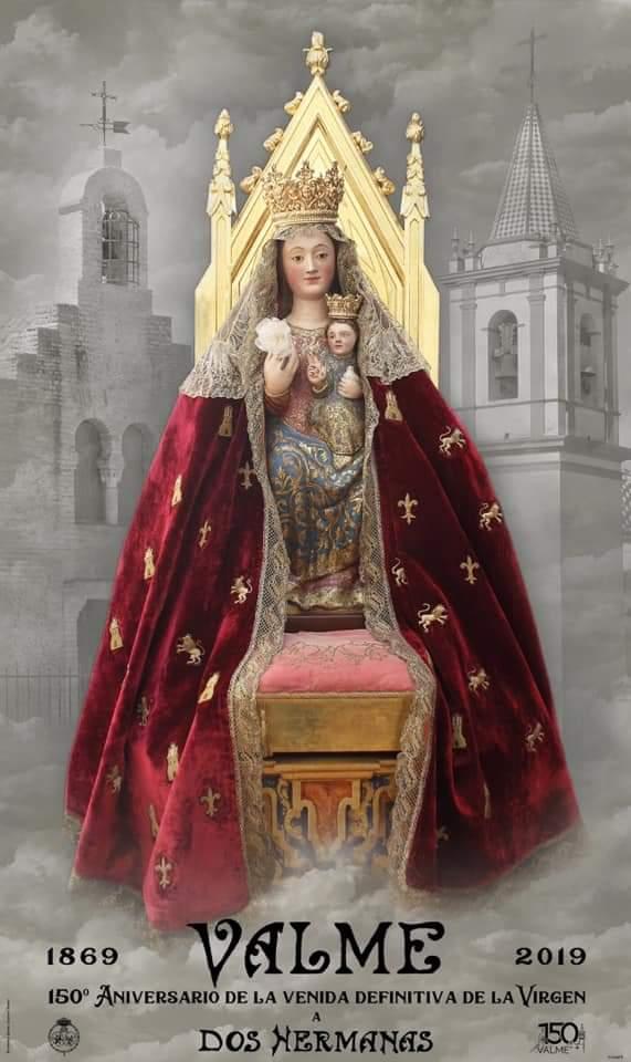 Presenta el Cartel conmemorativo del 150º aniversario de la Santísima Virgen de Valme de Dos Hermanas