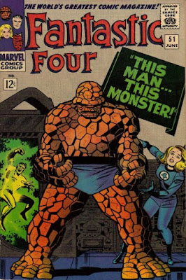 Fantastic Four #51, This Man, This Monster