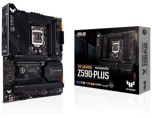 ASUS TUF Gaming Z590-Plus ATX Gaming Motherboard