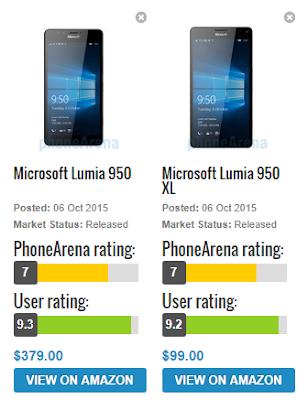 Cell Phone Lumia 950 Quay phim 4K