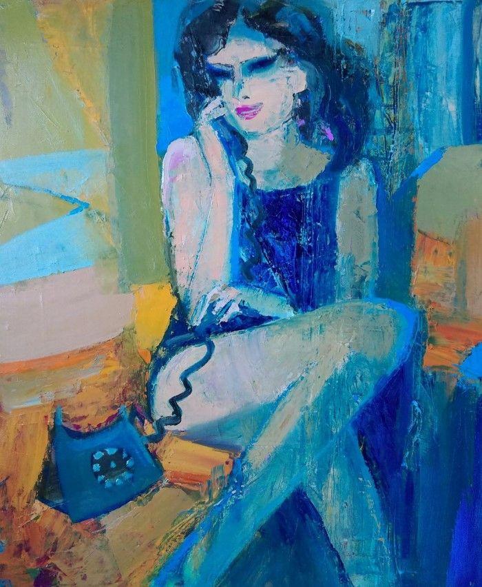 Молдавский художник. Victoria Cozmolici