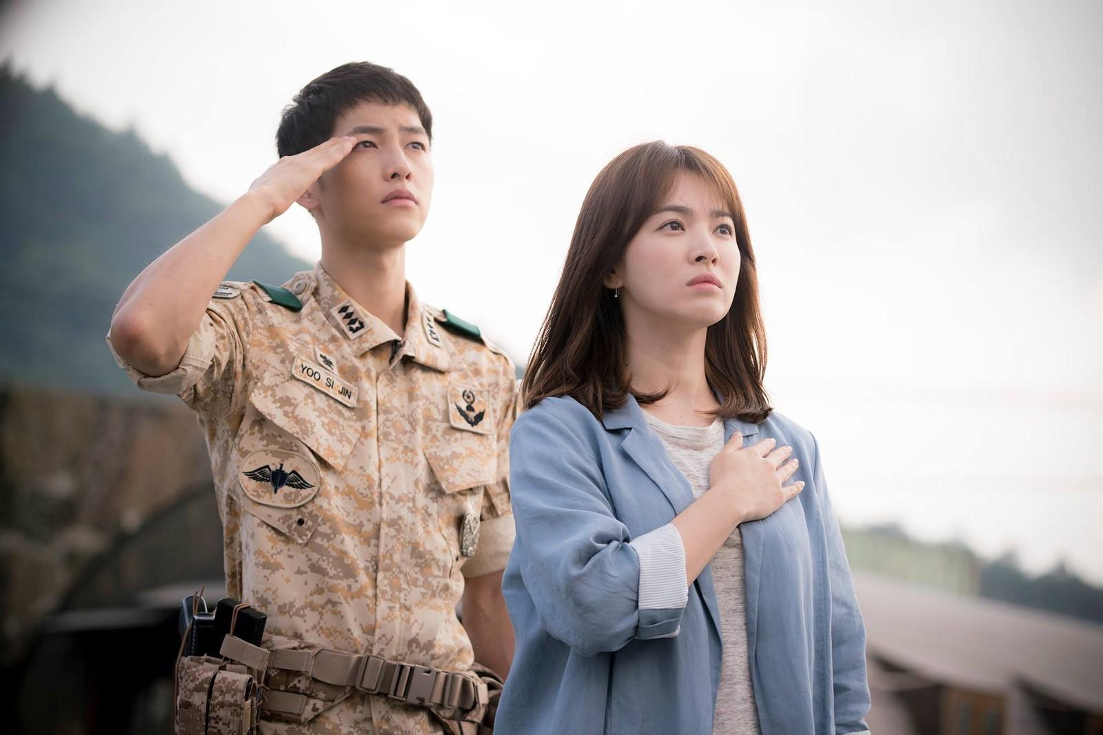 Drama Korea Descendants of the Sun Episode 1-16(END) Subtitle Indonesia
