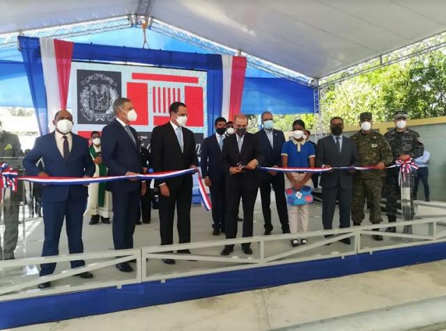 Presidente Medina inaugura 25 escuelas y 3 estancias infantiles en la región Sur
