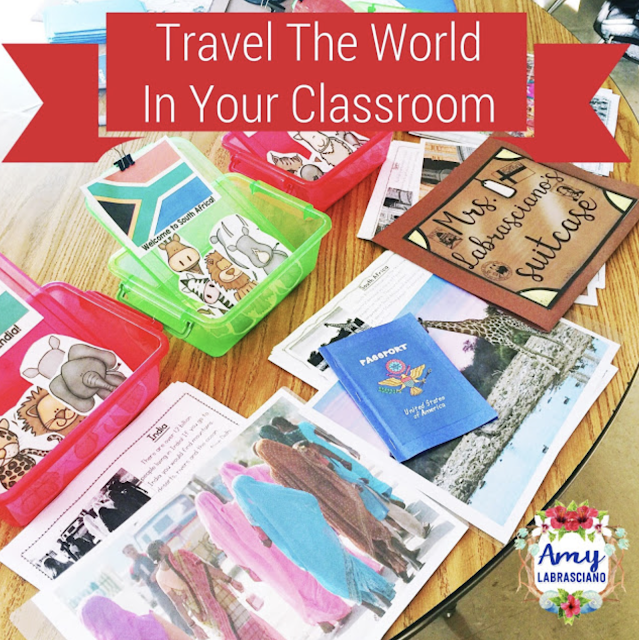 Click here to learn all about teaching ELA in the 2nd grade classroom.  These free and fun lesson outlines will detail curriculum and ideas for all informational, literature and writing standards in my elementary classroom.  This week's lessons will be all about countries of the world which include:  Spain, South Africa, Japan, China, U.S.A and Sweden.  Your second grade students will love the lessons and activities shared here.  These lesson outlines are added and updated almost each week.