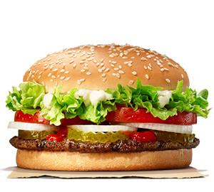 Pilihan Burger Terbaik Pastinya Burger King Whooper
