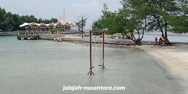 wisata pantai pulau tidung kepulauan seribu selatan