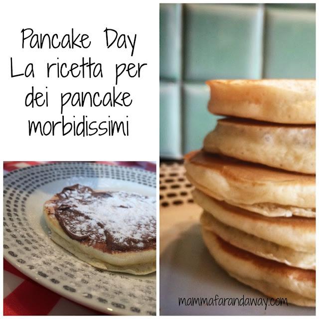 ricetta pancake morbidi