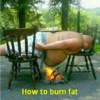 funny way of burning fat