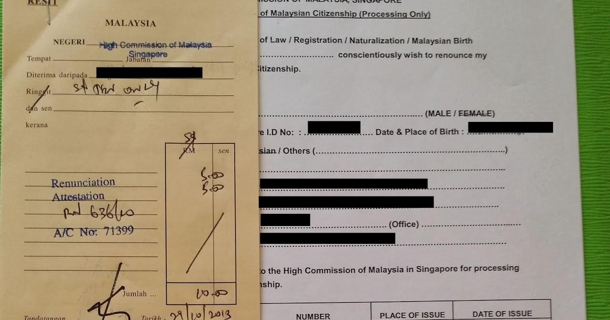 World Without Strangers: Singapore Citizenship Registration