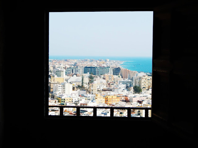 Widok na Almerię z Alcazaby