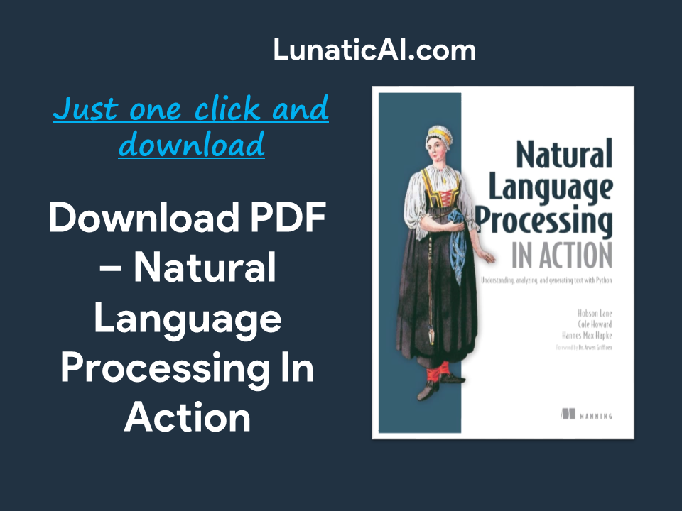 Natural language processing in Action PDF GitHub