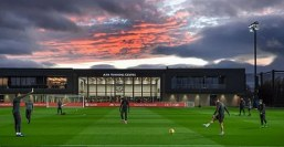 Pictures: Liverpool players 'hate their new £50m training ground because it's too windy'