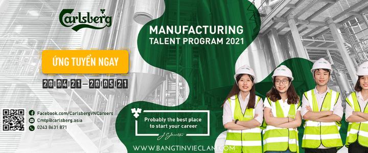 Carlsberg Manufacturing Talent Program 2021