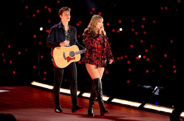 Shawn Mendes e Taylor Swift