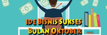Bisnis Sukses Bulan Oktober Untung Sampai Jutaan Rupiah