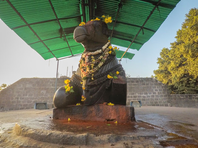 nandi thousand pillar temple warangal image photo