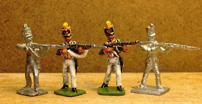 Vintage Napoleonic French Line Infantry