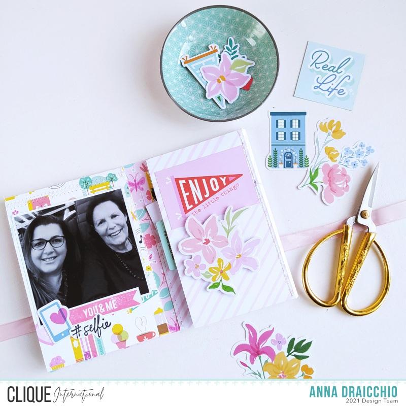 Clique International: Mini Album FlipBook - Pinkfresh Studio – VIDEO