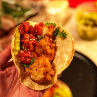 CHIPOTLE BUFFALO CAULIFLOWER TACOS