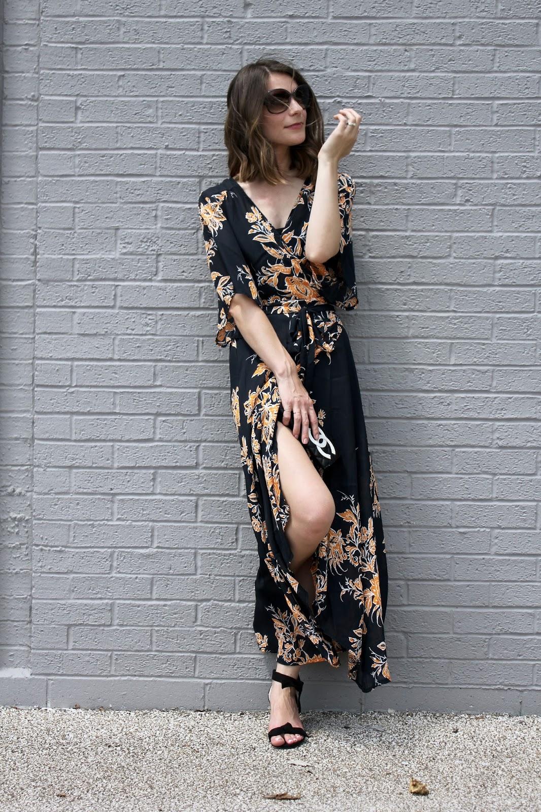 Rosegal Kimono Maxi Dress