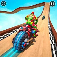 Robot Bike Stunt Master: Bike Stunt Games 2020 Apk Download