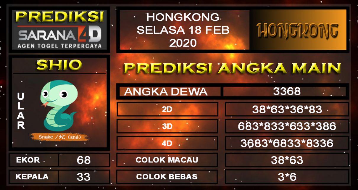 Prediksi Togel Hongkong JP 17 Februari 2020 - Prediksi Angka Main