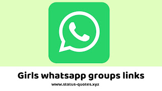 【ACTIVE】150+ Girls Whatsapp Groups Links