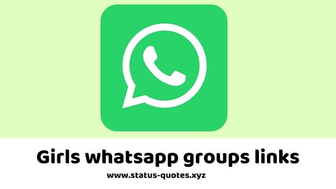 【ACTIVE】150+ Girls Whatsapp Groups Links