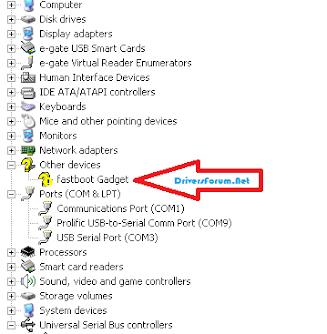 Fastboot Gadget Driver Windows 7 64 bit