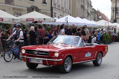 Ford Mustang kabriolet, Rajd Krak 2013
