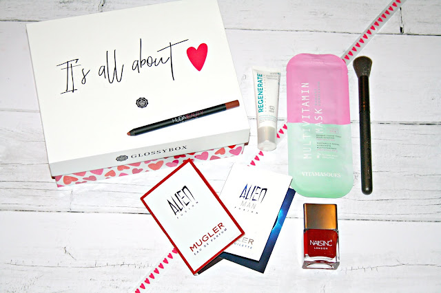 Glossybox Ft. HUDA Beauty- February 2019