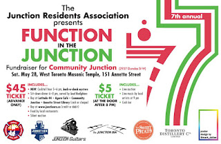 Function in the Junction 2016 - Fundraiser for Community Junction , poster