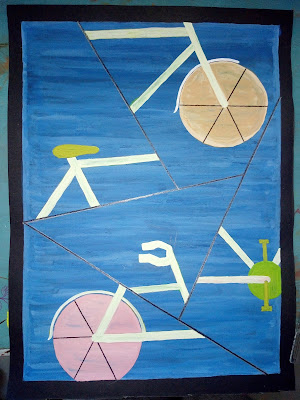 Bicycle drawing image