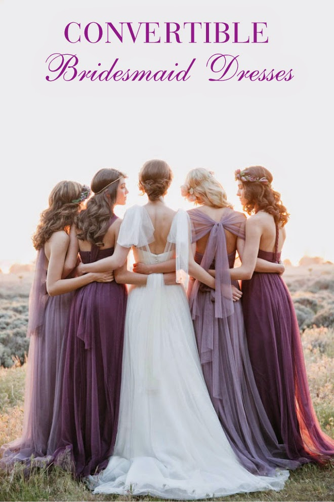 Convertible Bridesmaid Dresses Belle The Magazine