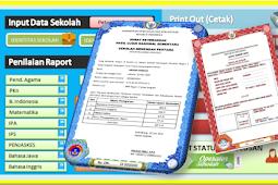 Aplikasi SKHU untuk SD, SMP dan SMA tahun 2018