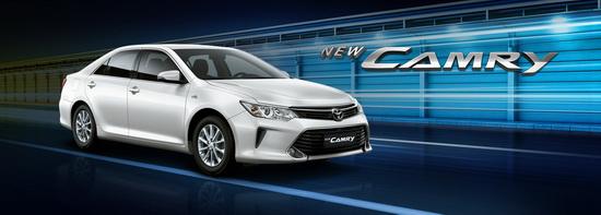 Spesifikasi Toyota Camry Tahun 2017