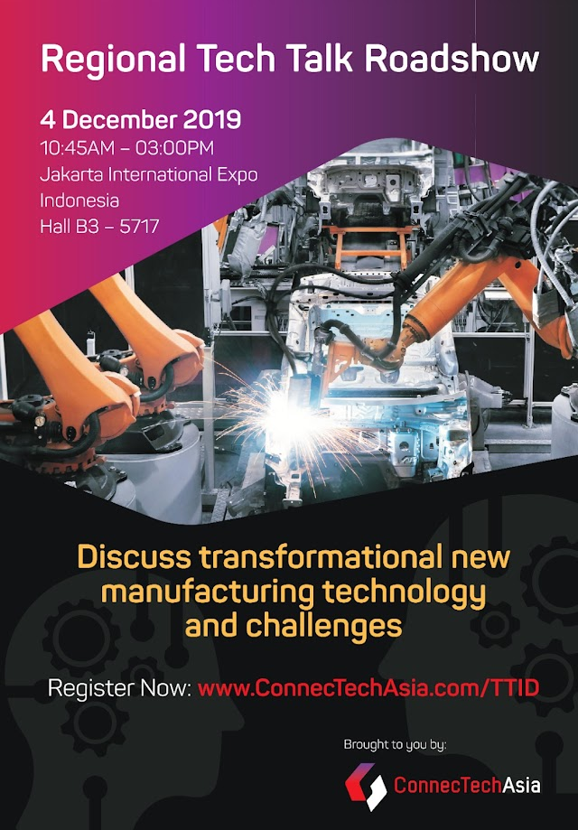 ConnecTechAsia – Regional Tech Talk Roadshow - Indonesia - 4 Des 2019