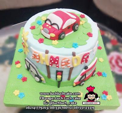 Birthday Cake Fondant Mobil
