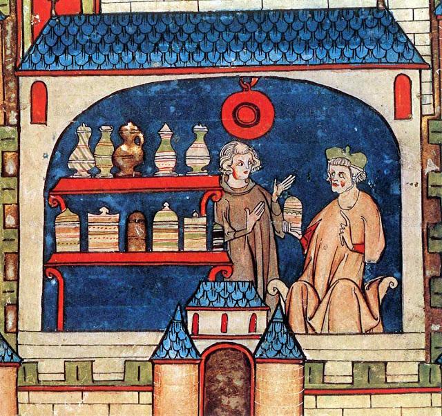 Farmacêutico medieval