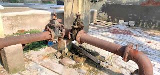चौकियां धाम में एक हफ्ते से लोगों को नहीं मिल रहा पानी   #NayaSaberaNetwork
