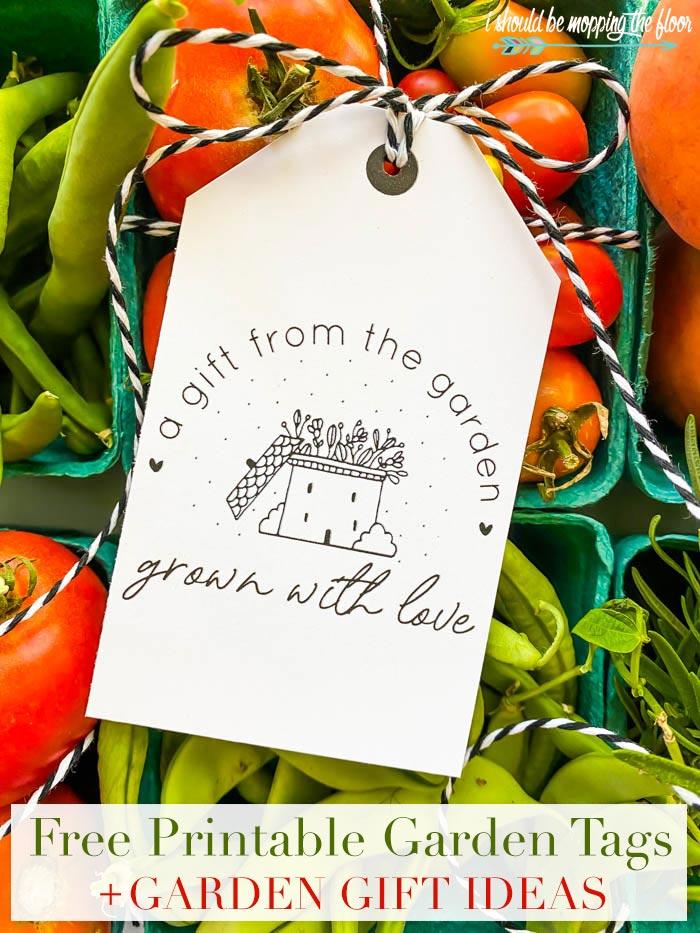 Garden Gift Tags