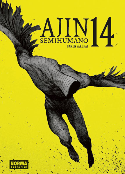 "Reseña de ""AJIN / Semihumano"" (亜人) vol.14 de Gamon Sakurai - Norma Editorial"