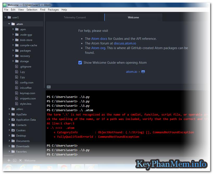 Atom Editor 1.26.0 Full 32 + 64 Bit, Siêu lựa chọn cho lập trình viên