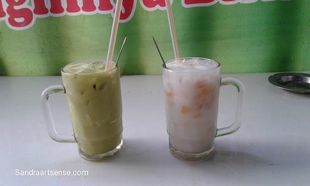 Es kelapa Putra Bandung