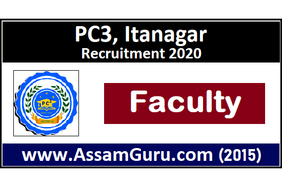 PC3-Itanagar-Job-2020